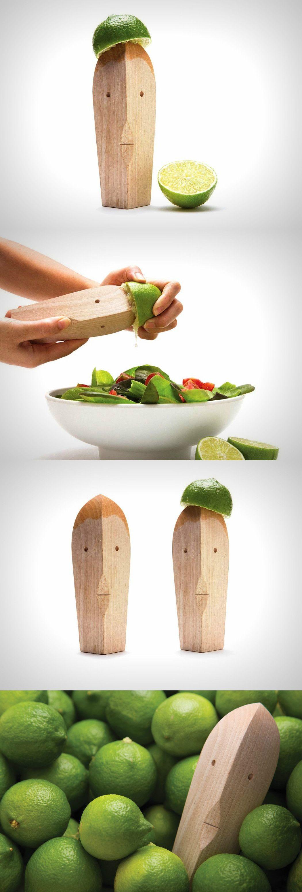 Le presse agrumes bruce en bois | Accessoires cuisine