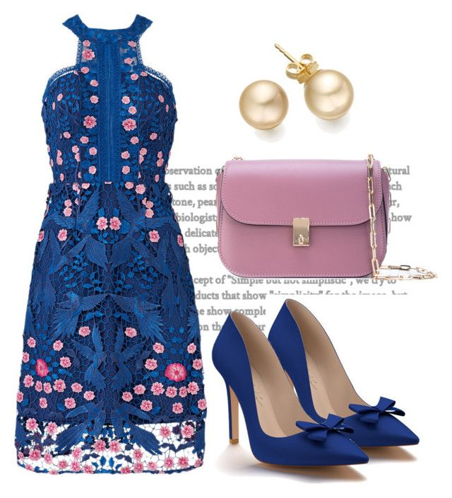 """Untitled #3583"" by janicemckay ❤ liked on Polyvore featuring Notte by Marchesa, Shoes of Prey and Valentino"