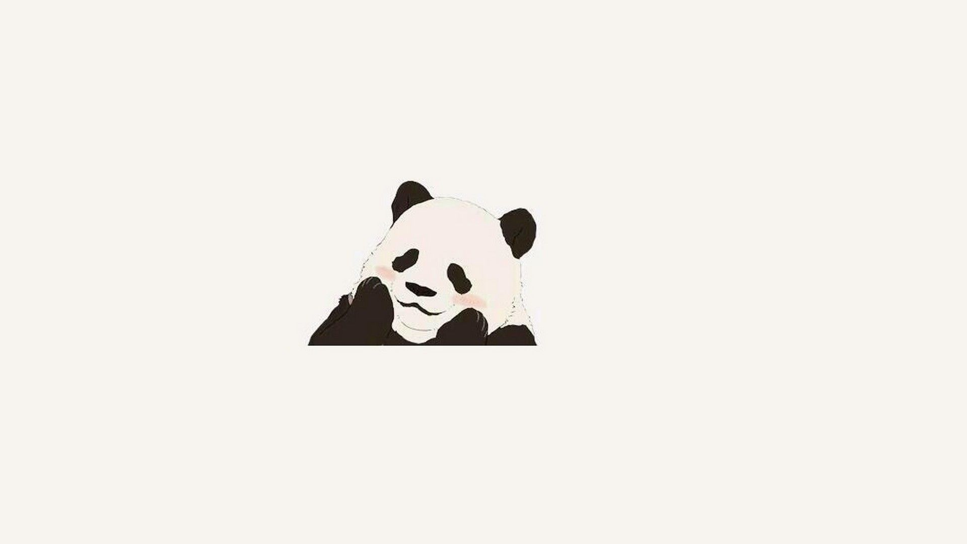 Free Desktop Backgrounds For Panda Panda Bear Art Panda Background Panda Wallpapers