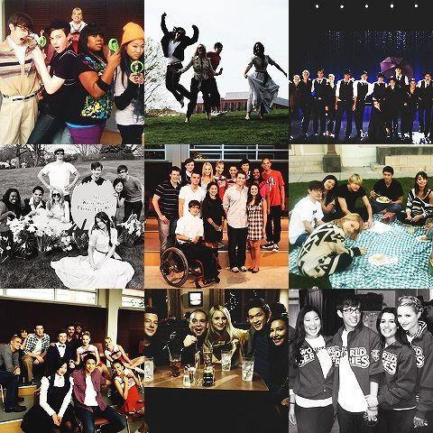 Glee ❤️ Family