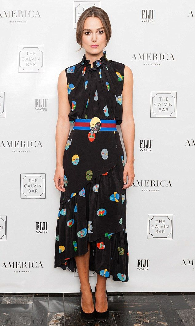 Candid: British actress Keira Knightley admits her good looks have helped win her prominent film roles in the past