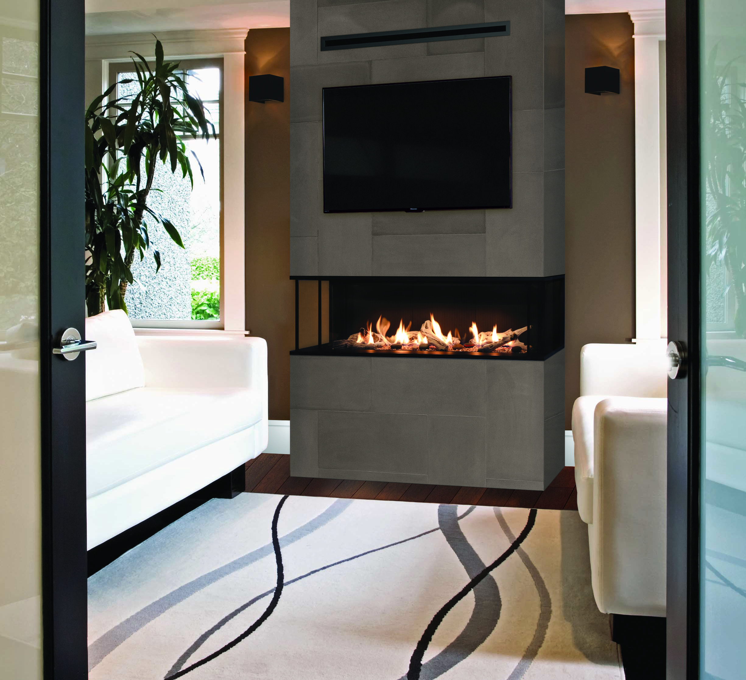 Make: Valor Model: LX2 Type: Gas Fireplace | Contemporary ...