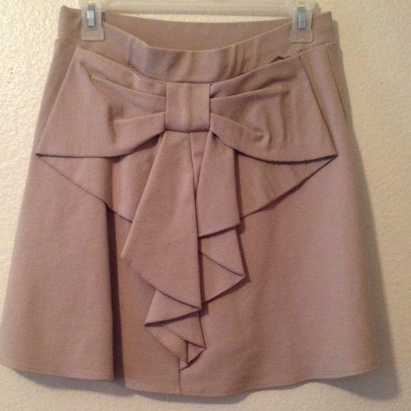 Long Camel Skirt | seams for a desire