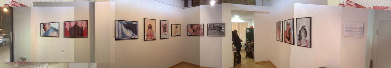 """""""Las Alegrías Del Incendio""""    #Solo Exhibition  @Escalera de Incendios (bcn/ES)"""