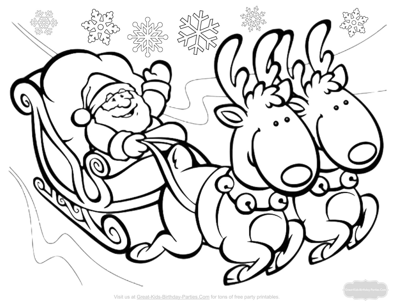 Christmas Coloring Pages  Christmas coloring pages, Christmas