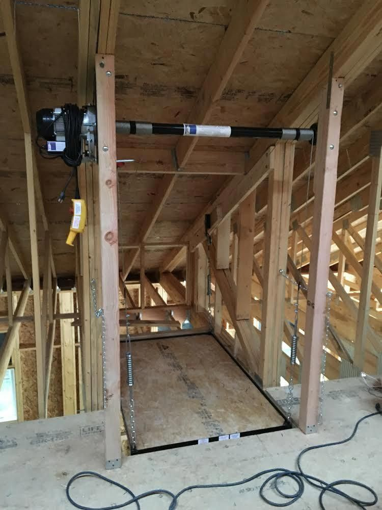 Pin By Gail Smith On Attic Lift In 2020 Attic Lift Garage Attic Lift Garage Lift
