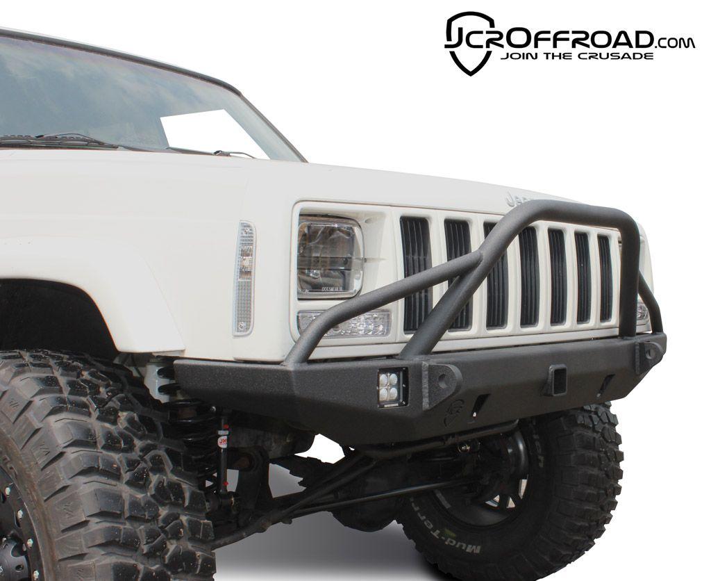Jcr Defender Prerunner Front Bumper Xj Cherokee Jeep Xj Jeep Parts Defender