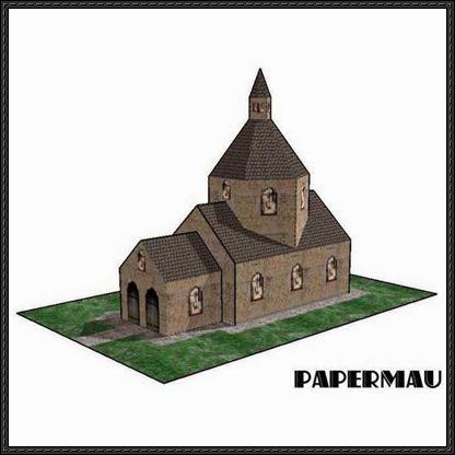Model Church Template Paper Aprildearest