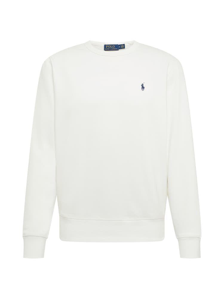 Polo Ralph Lauren Sweatshirt Rl Fleece Lsl Knt Herren Creme Größe Xs Polo Ralph Lauren Sweatshirt Sweatshirt Ralph Lauren