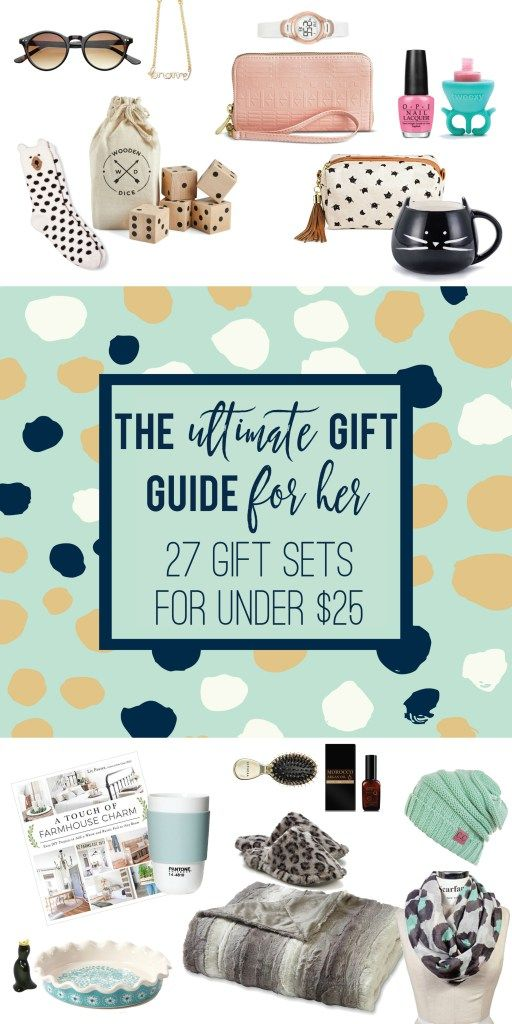The Ultimate Holiday Gift Guide For Her 27 Gift Sets Under 25 The Squeeze Practical Christmas Gift Goft Ideas Gifts