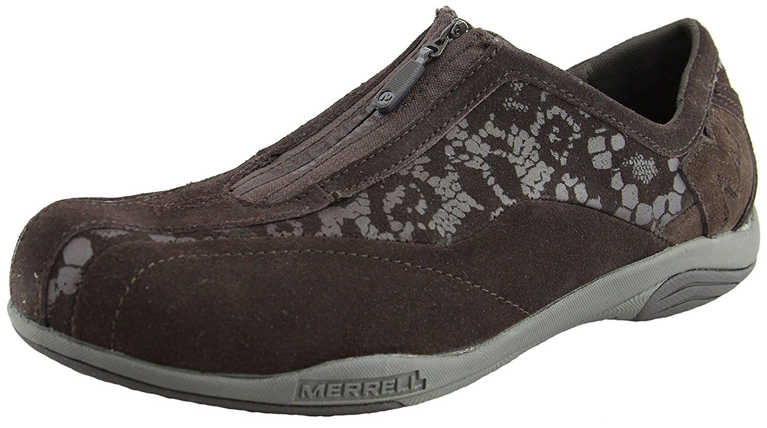 Merrell Women's Fotra Leather Casual Shoes [7M] [Espresso Brown] * More info could be found at the image url.