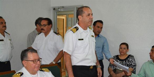 Toma protesta nuevo titular de la capitanía de puerto de Ensenada
