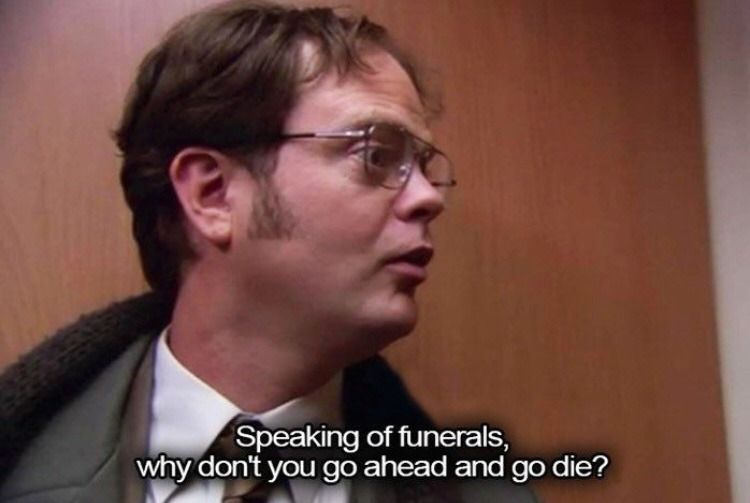 The Office Office Quotes The Office Senior Quotes Dwight Quotes
