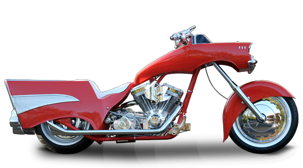 occ schussler bike 57 chevy custom motorcycles. Black Bedroom Furniture Sets. Home Design Ideas
