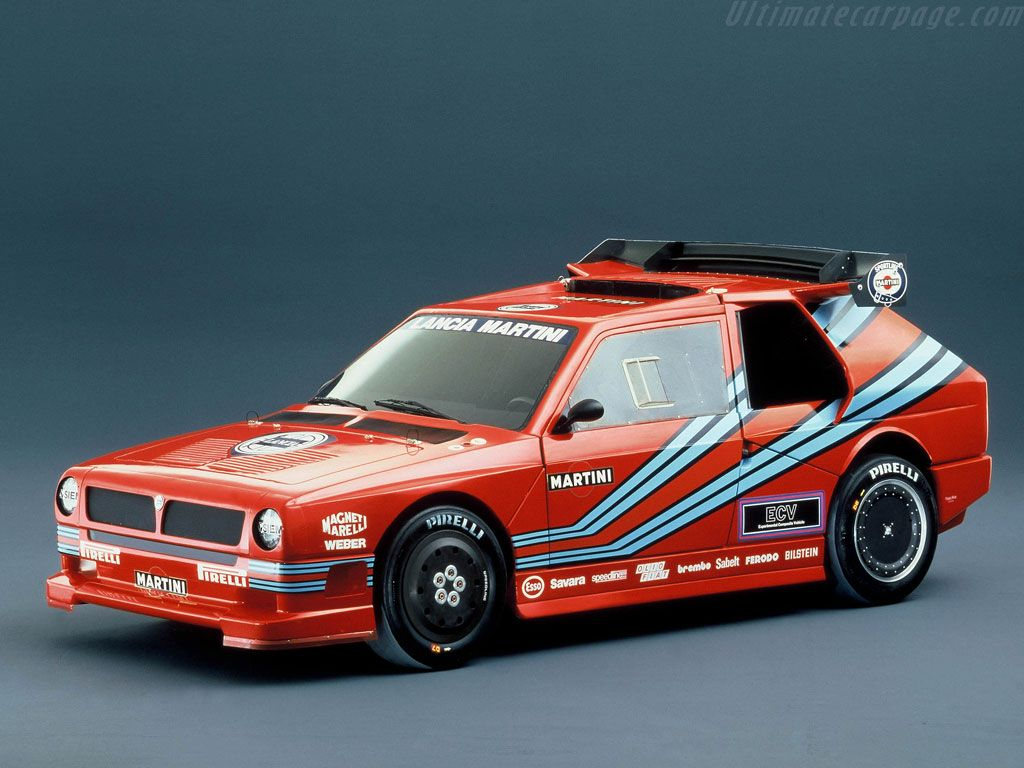 The Lancia ECV1 (Experimental Composite Vehicle) was a prototype ...
