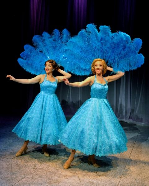 flash first look at westchester broadway theatres white christmas - White Christmas Sisters