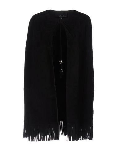 SIMONA CORSELLINI Women's Capes & ponchos Black 6 US