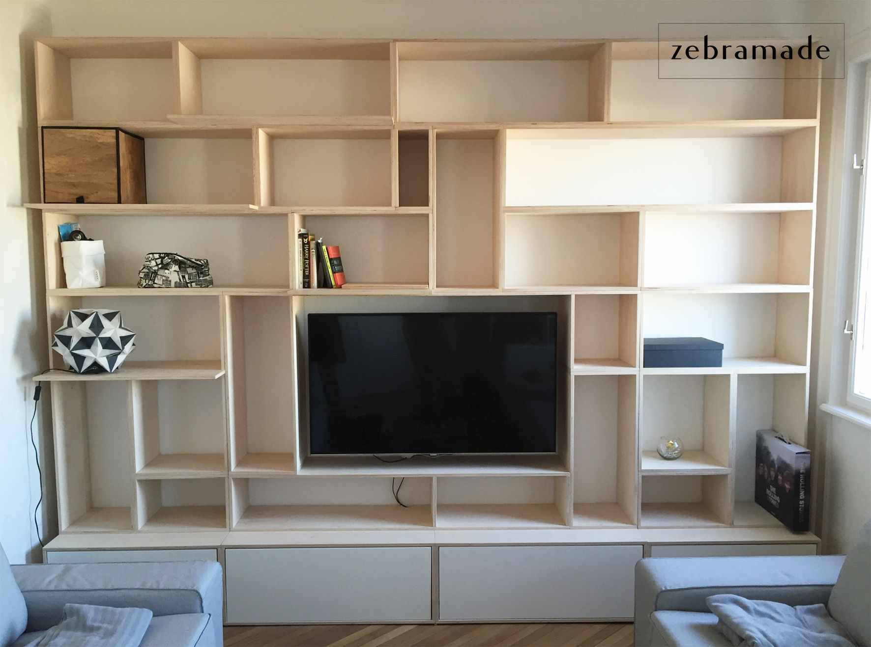 Image Result For Budapest Plywood Bookcase
