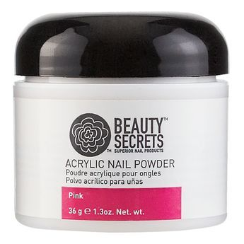 Beauty Secrets Pink Acrylic Powder.