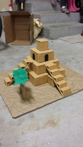Ziggurat model for school