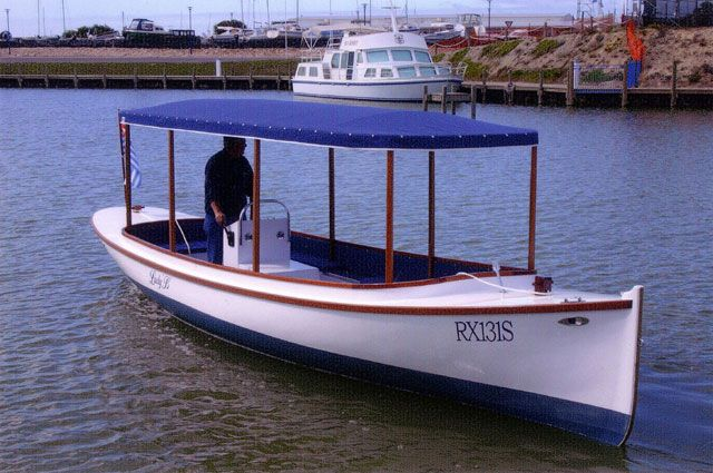 Bolger Fantail Launch Boats In 2018 T Wooden Boats