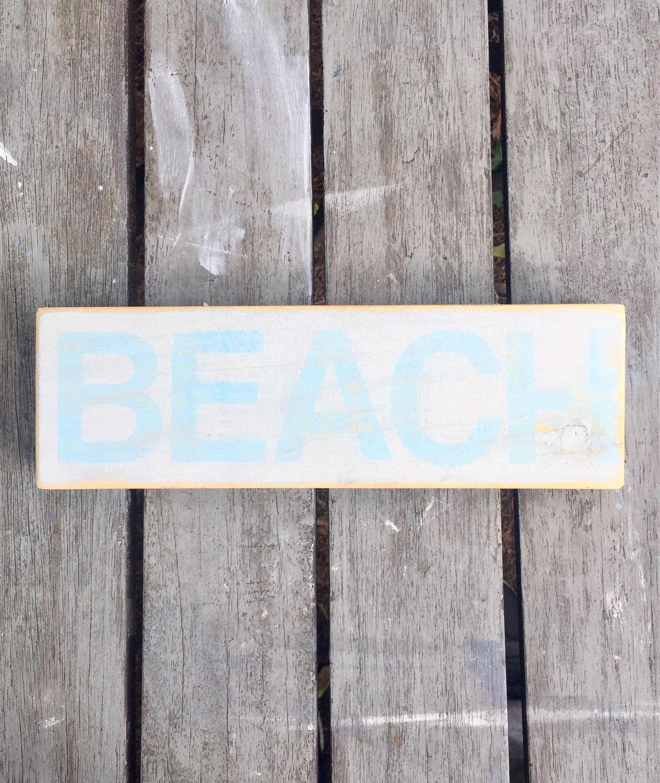Wood Beach Sign Wall Decor Choice Image Home Wall Decoration Ideas