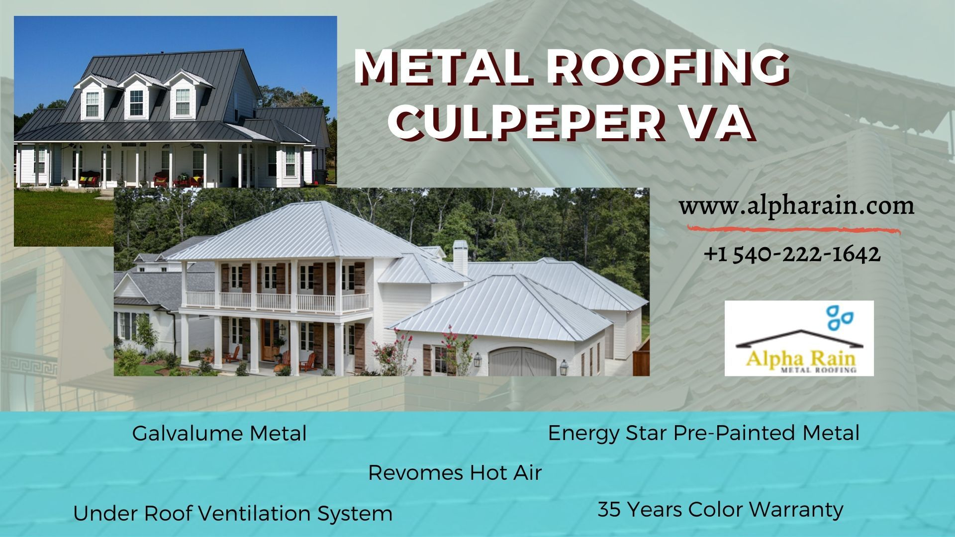 Virginia Metal Roof Specialists In 2020 Ventilation System Metal Roof Roof