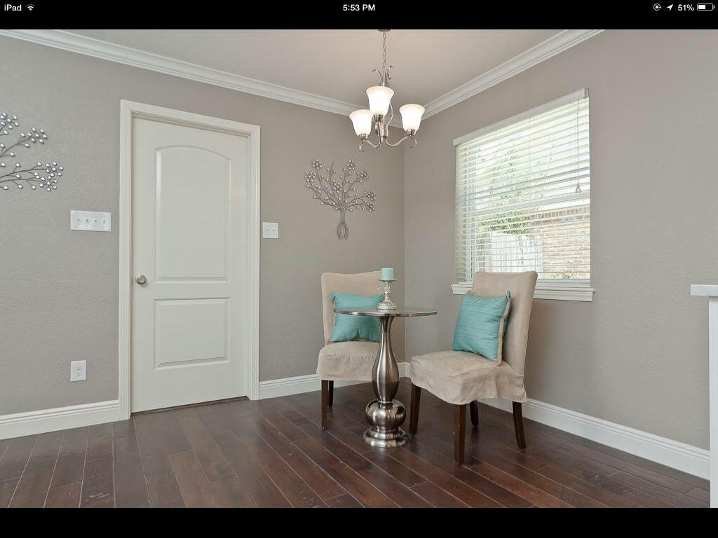 Bedroom Behr Cotton Grey Novocom Top