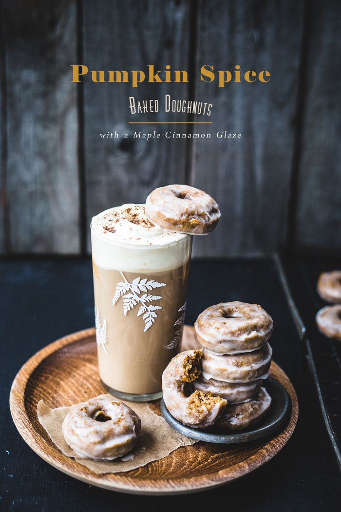 Pumpkin Spice Baked Doughnuts from *Baked Doughnuts for Everyone* by Ashley McLaughlin