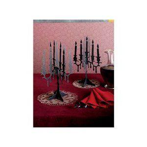 cardboard candelabra centerpieces