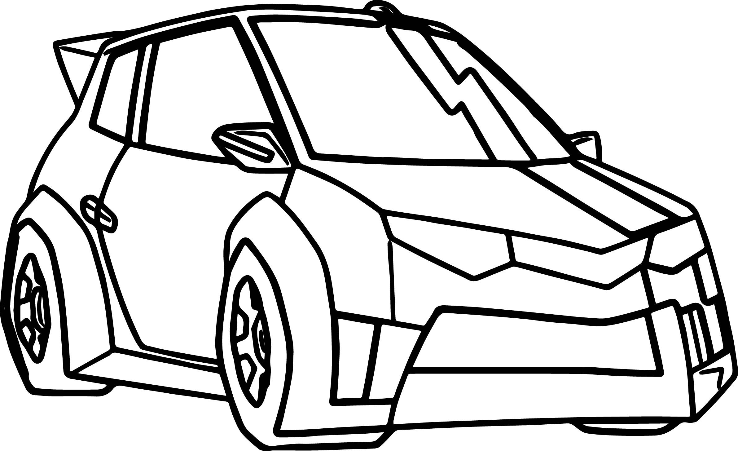 Transformers Car Coloring Page Cars coloring pages