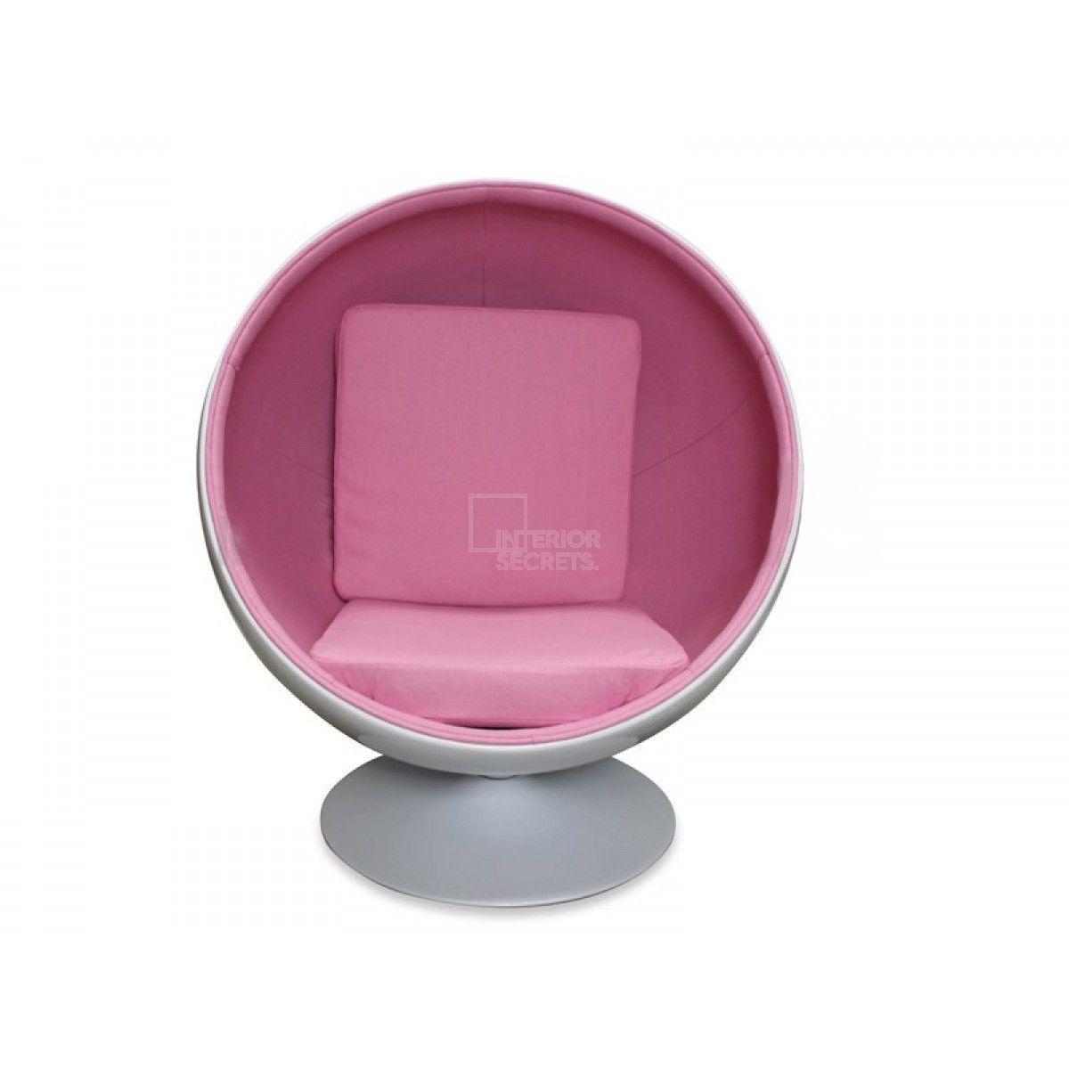 Ball chair eero aarnio replica light pink