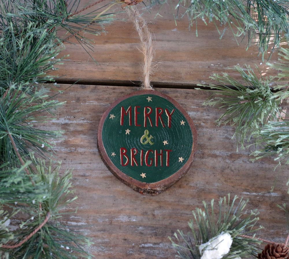 Handmade Personalized Christmas Ornaments