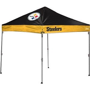 Pittsburgh Steelers 10 X 10 Straight Leg Tailgate Canopy Tent With Images Nfl Green Bay Pittsburgh Steelers Steelers