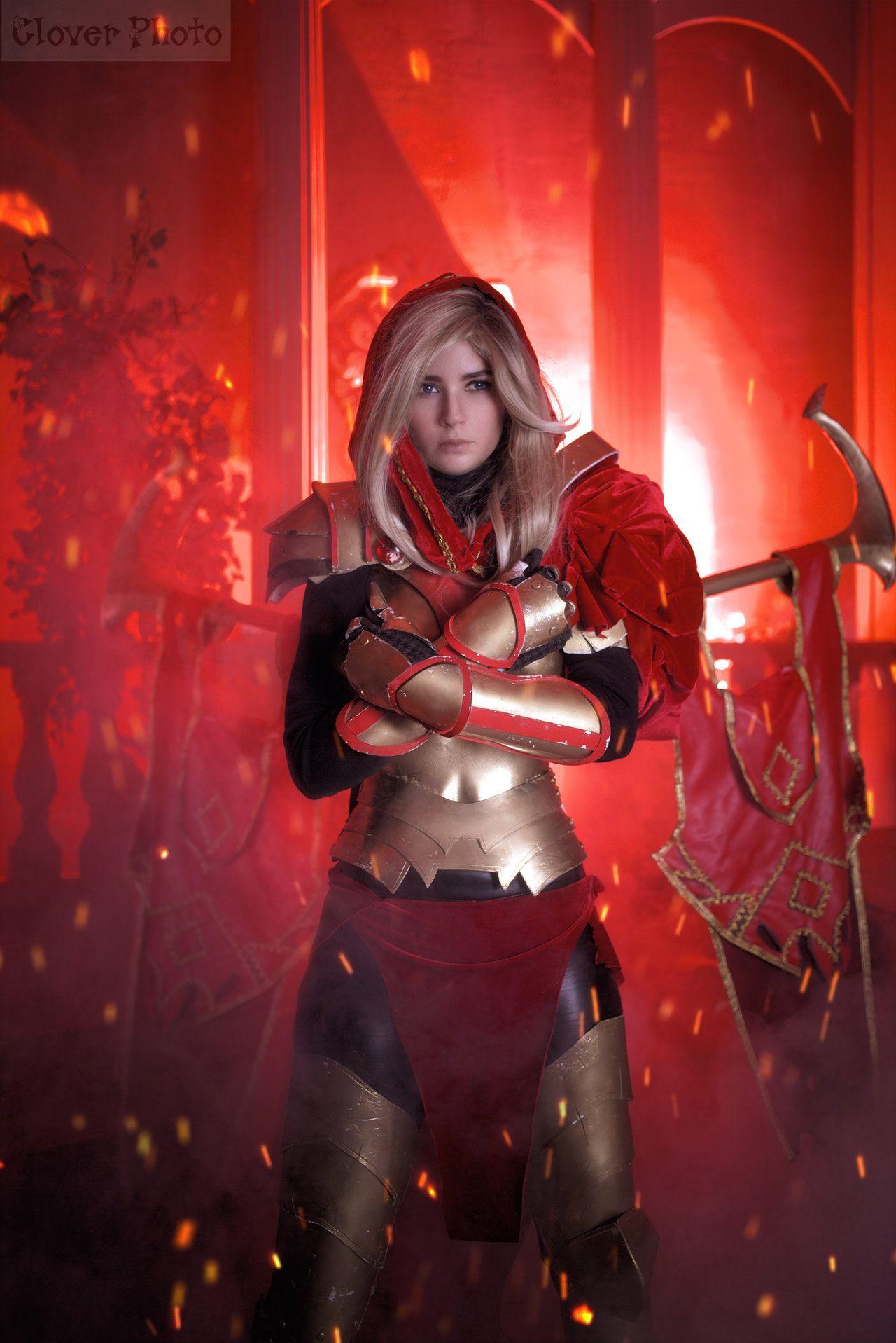 Resultado de imagen para cosplay de legion commander | Imagens