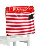 Oilcloth chair bag for Miss E!