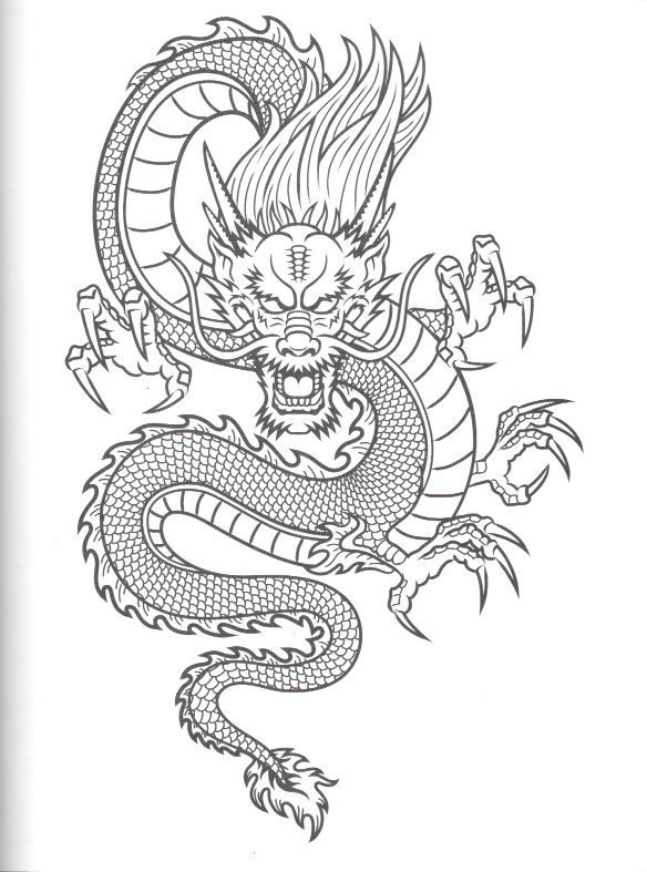 Pin By Robert Freeman On Dragons Asian Dragon Tattoo Japanese Dragon Tattoos Dragon Tattoo Designs