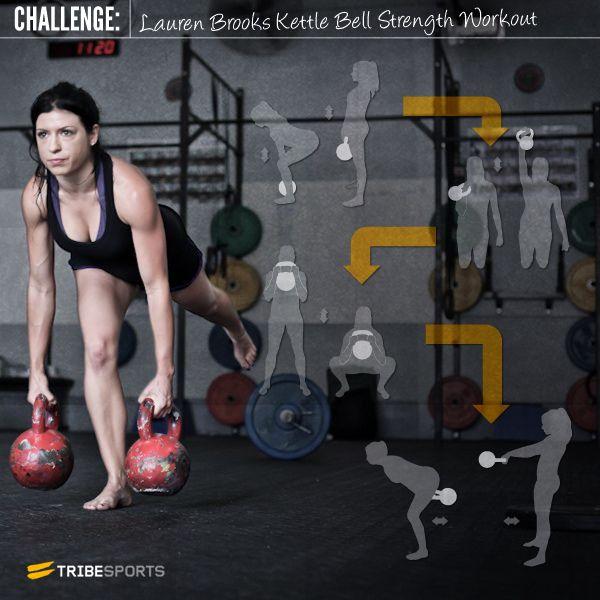 Lauren Brooks Kettle Bell Workout