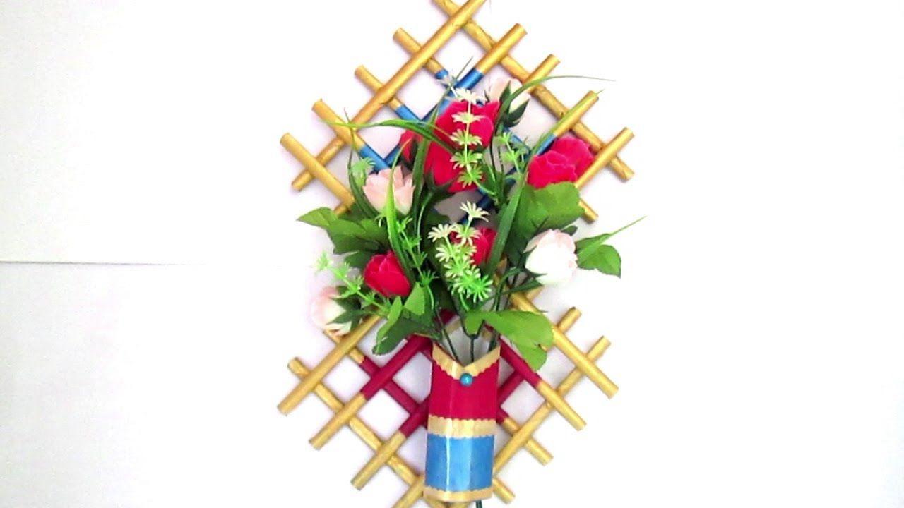 How To Make Newspaper Flower Vase Diy Newspaper Crafts Best Out Of Vase Crafts Diy Vase Flower Vase Diy