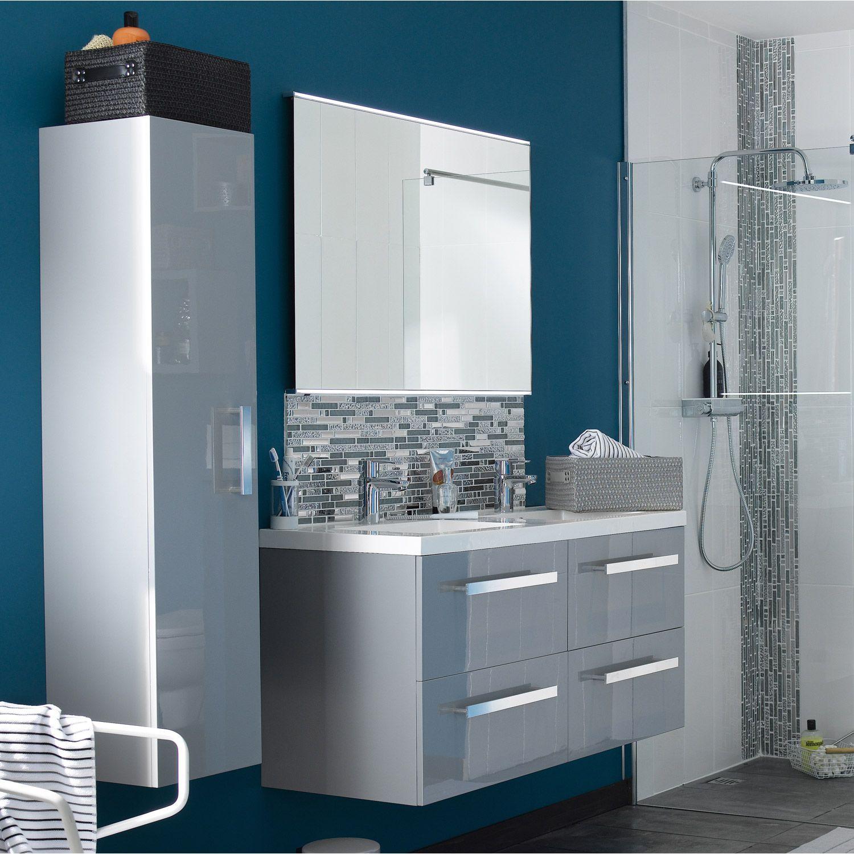 Mosaique Ice Tendance Blanc Et Chrome 5 Plaques Dont 1 Gratuite
