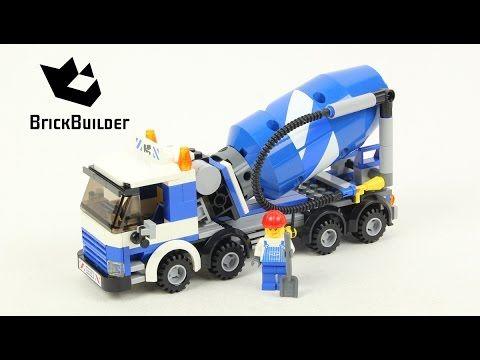 Lego City 7990 Cement Mixer Lego Speed Build Lego Pinterest