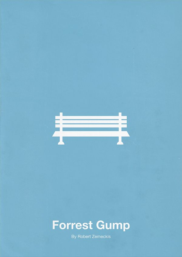 Forest Gump Movie Poster Film Posters Minimalist Movie Posters