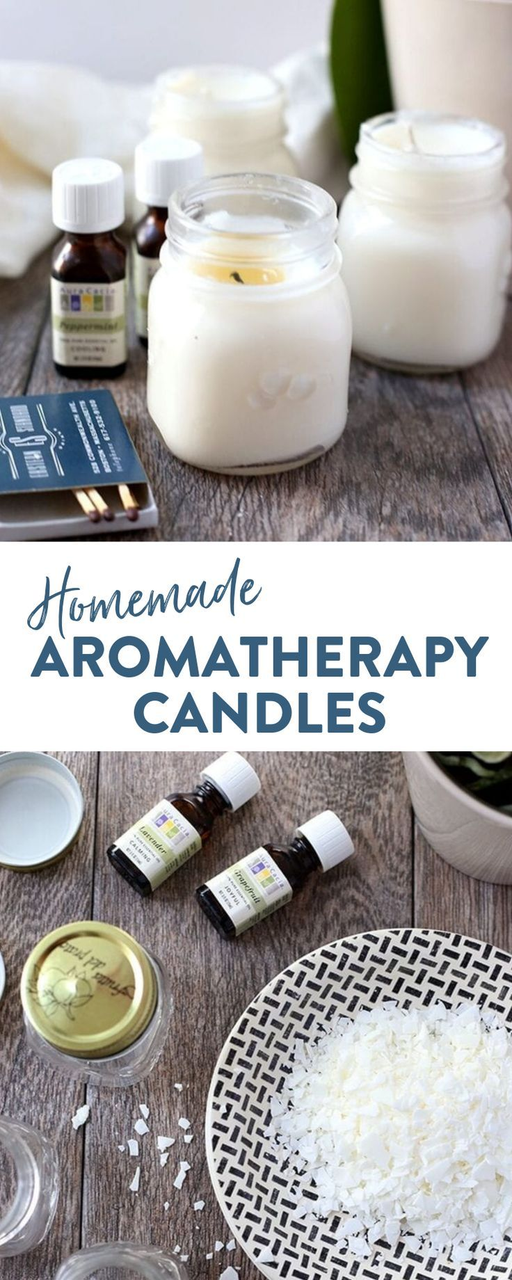 Homemade Aromatherapy Candles - The Healthy Maven