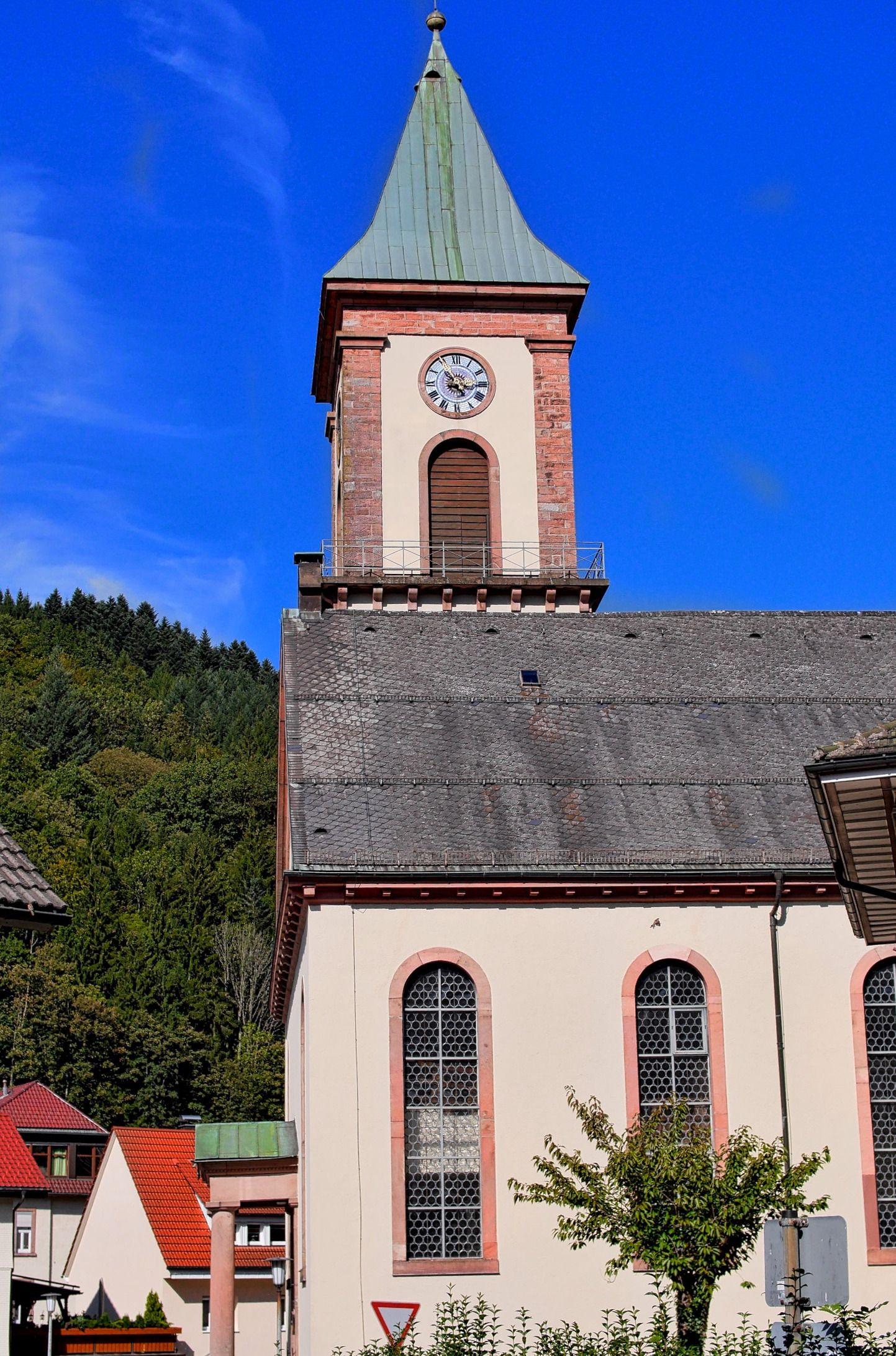 Kirche in Bad Peterstal Griesbach Black Forest Schwarzwald