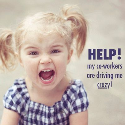 What To Do When Your Co Workers Drive You Crazy Work Humor Coworkers Coworker Humor Annoying Coworkers