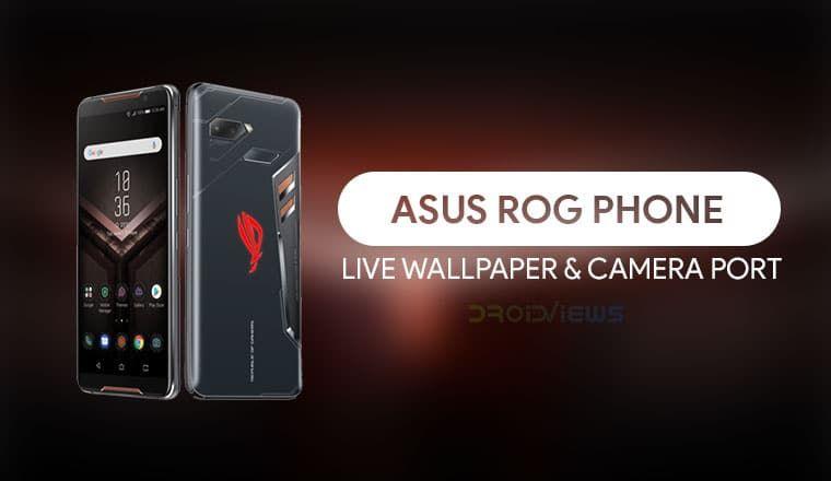 Get Asus Rog Phone Live Wallpaper Camera App On Any Android Live Wallpapers Asus Rog Asus