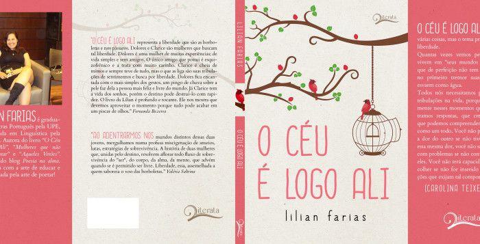 Divulgação – Conheça Lilian Farias   Literatura de Cabeça