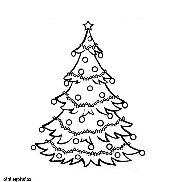 Dessin Sapin De Noel