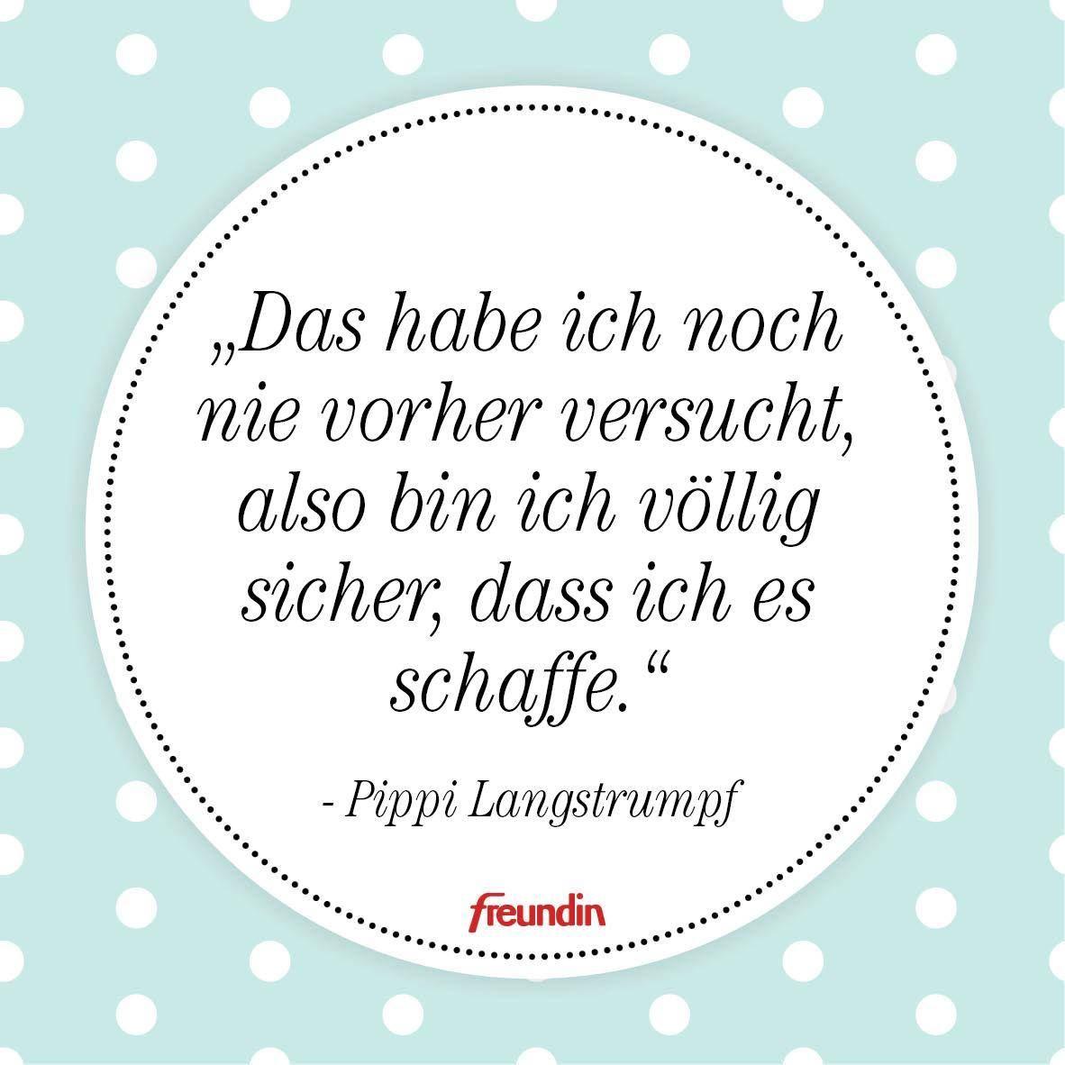 Das Schönste Zitat Von Pippi Langstrumpf Sprüche Pippi