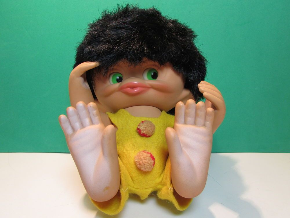 1965 Toys For Boys : Monkey boy quot unica troll doll made in